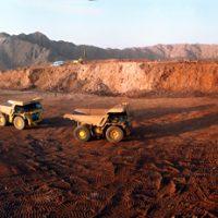 حجم استخراج سنگ آهن در سنگان خواف افزایش یافت